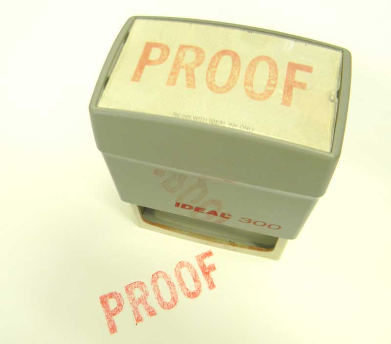 self inking stamps made by Rapid Press